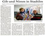 08.12.2017 : Neuigkeiten bei Gib und Nimm - Bericht in der Thüringer Allgemeinen