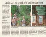 Pressebericht von der Munch Wanderung am 05.08.18 im Freien Wort